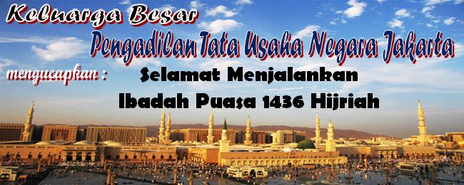 Ucapan Ramadhan 1436 Hijriah