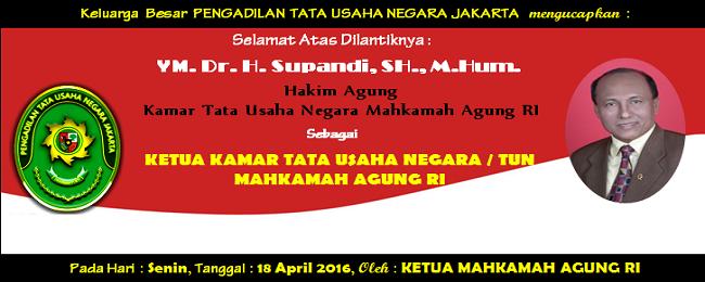 Ucapan Dr. Supandi_Tuaka TUN