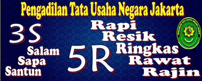 3 S dan 5 R_PTUN Jakarta